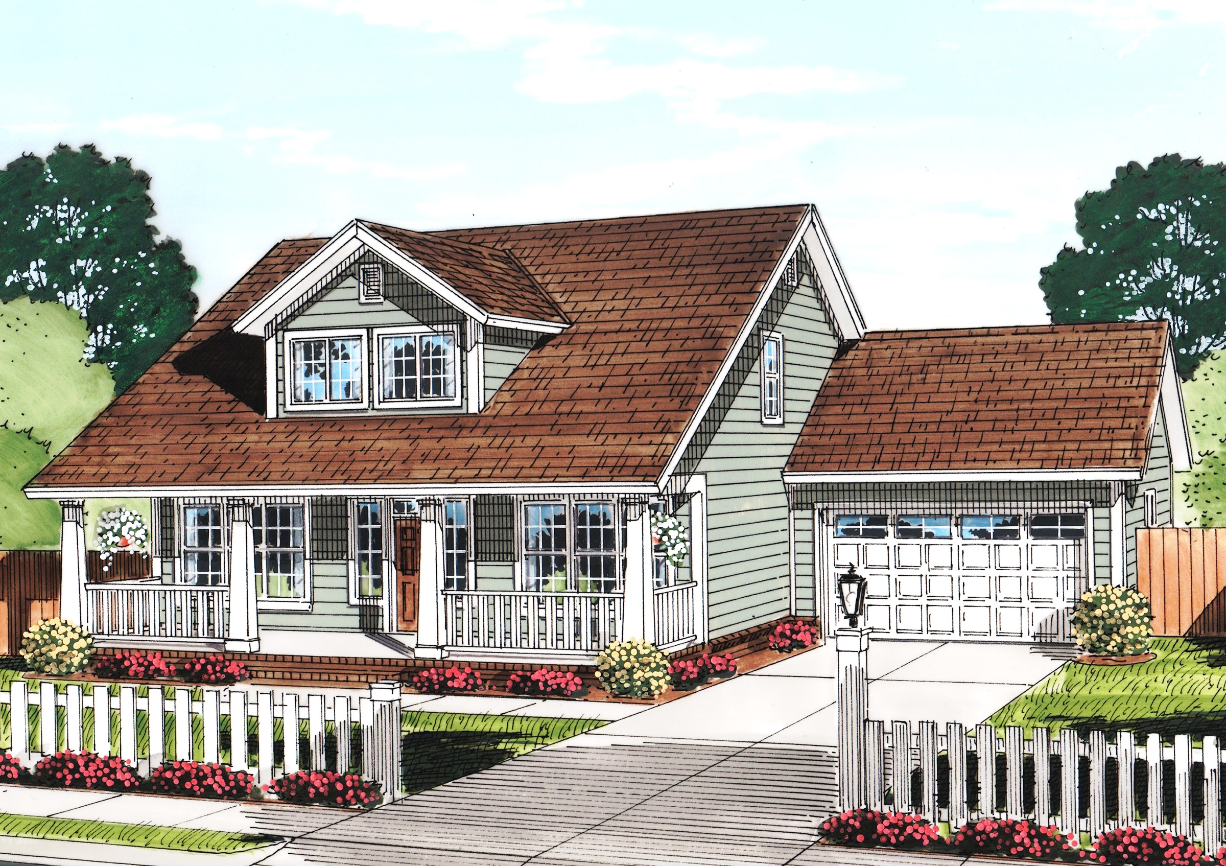 Cozy Cottage With Removable Garage 52222wm Architectural Designs House Plans