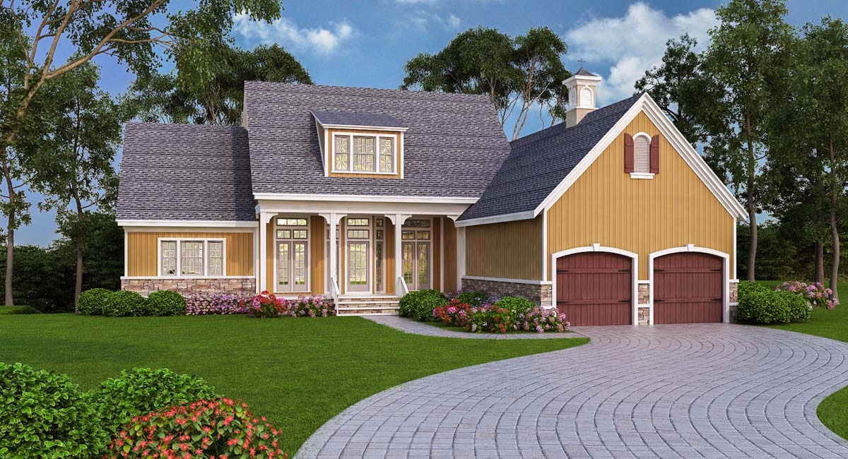 Energy-Efficient Traditional Home - 55142BR ...