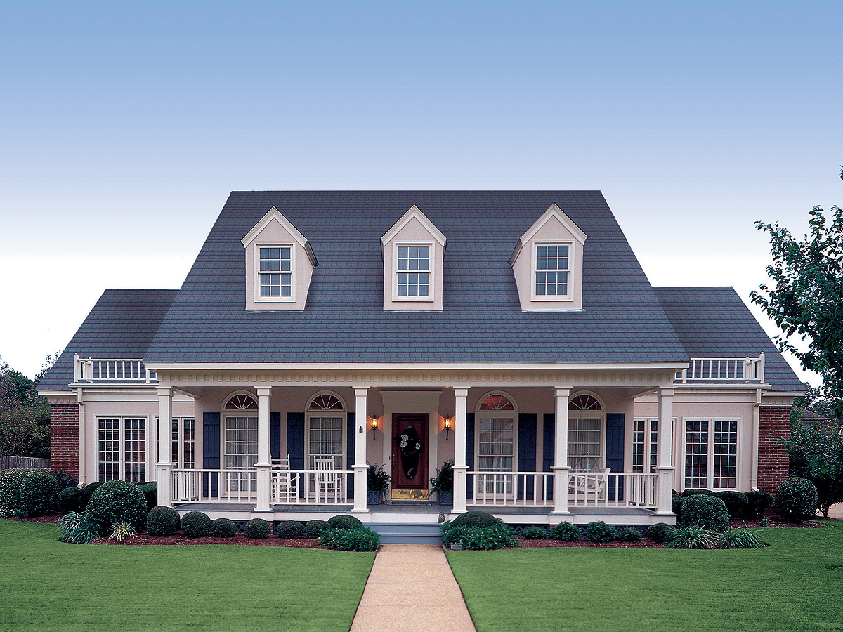 Symmetrical Creole 5567br Architectural Designs