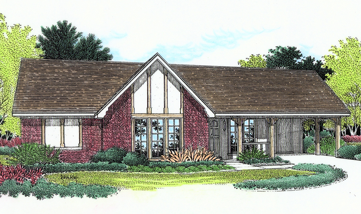 Charming Front Porch 5593br Architectural Designs