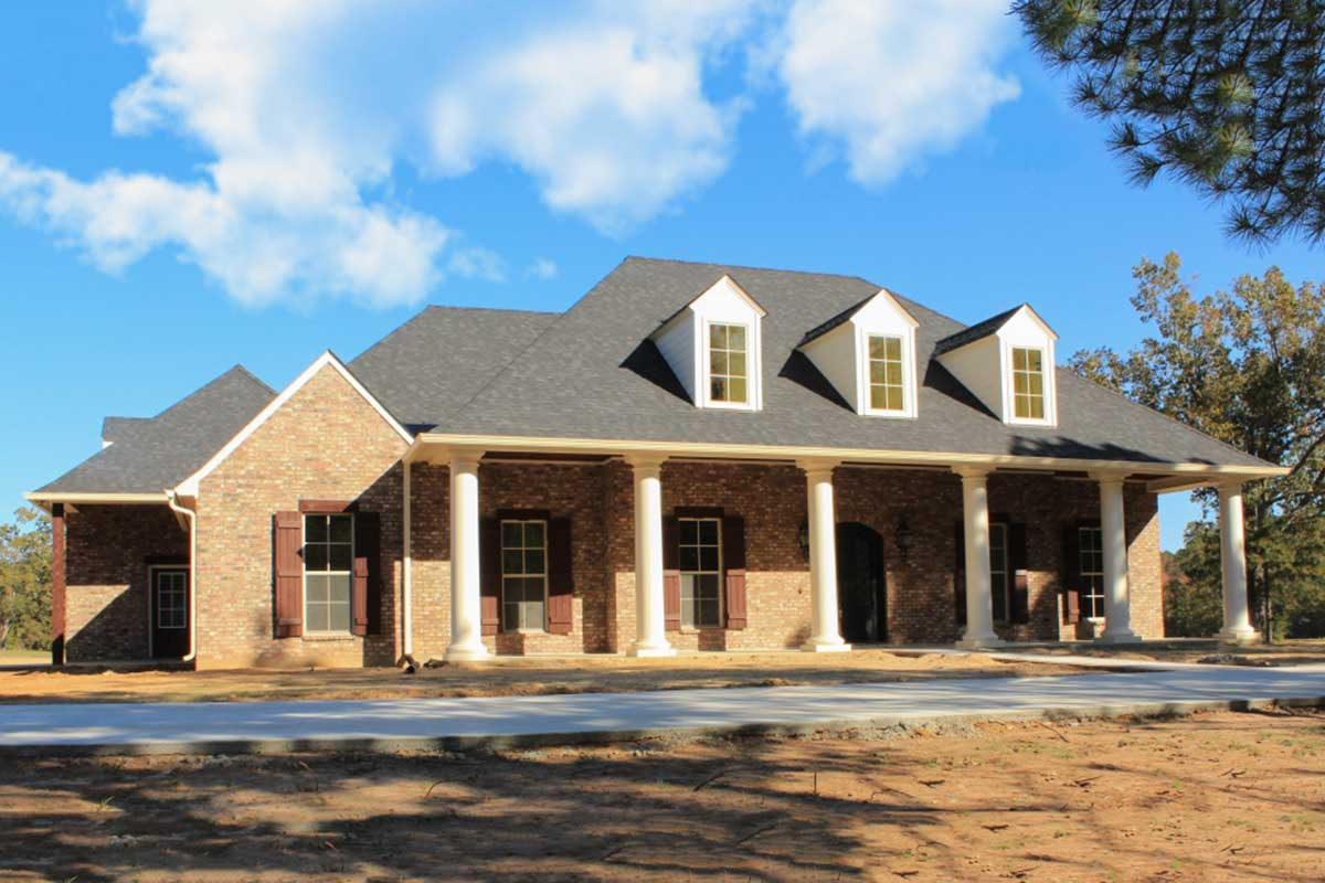 Graceful 4 Bedroom Acadian Home Plan 56337sm