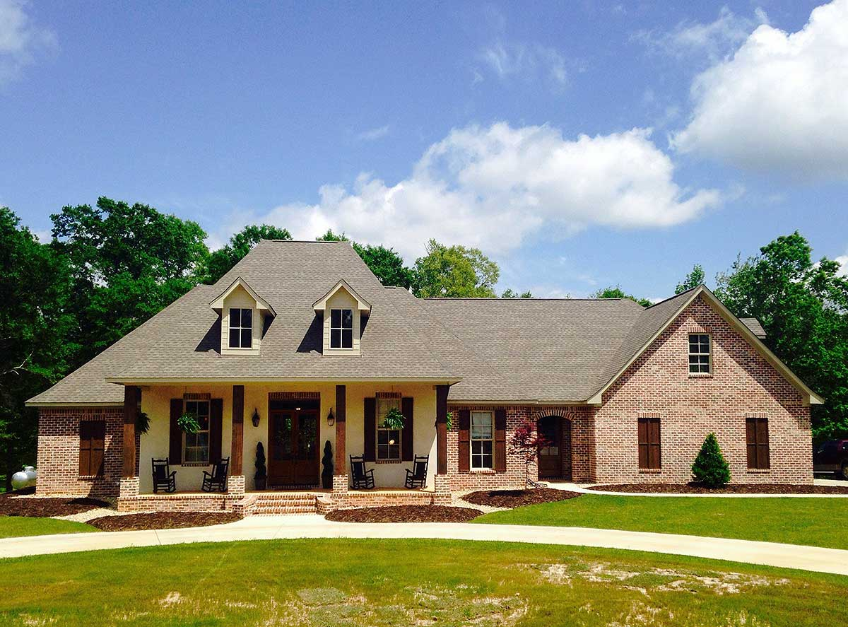 French Country Home Plan With Bonus Room - 56352SM ...