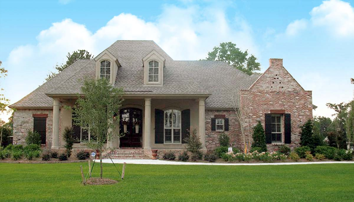 french country house designs roomy french country home plan 56367sm architectural designs house plans 2852