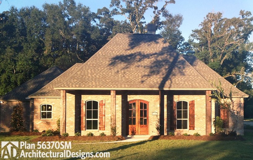 Gracious Southern House Plan 56370sm Architectural Designs