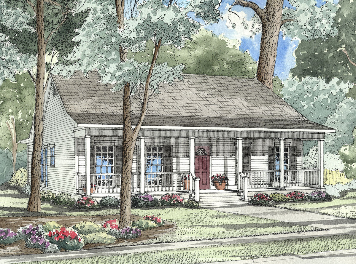 southern style floor plans traditional southern style home plan 59161nd architectural designs house plans 4763