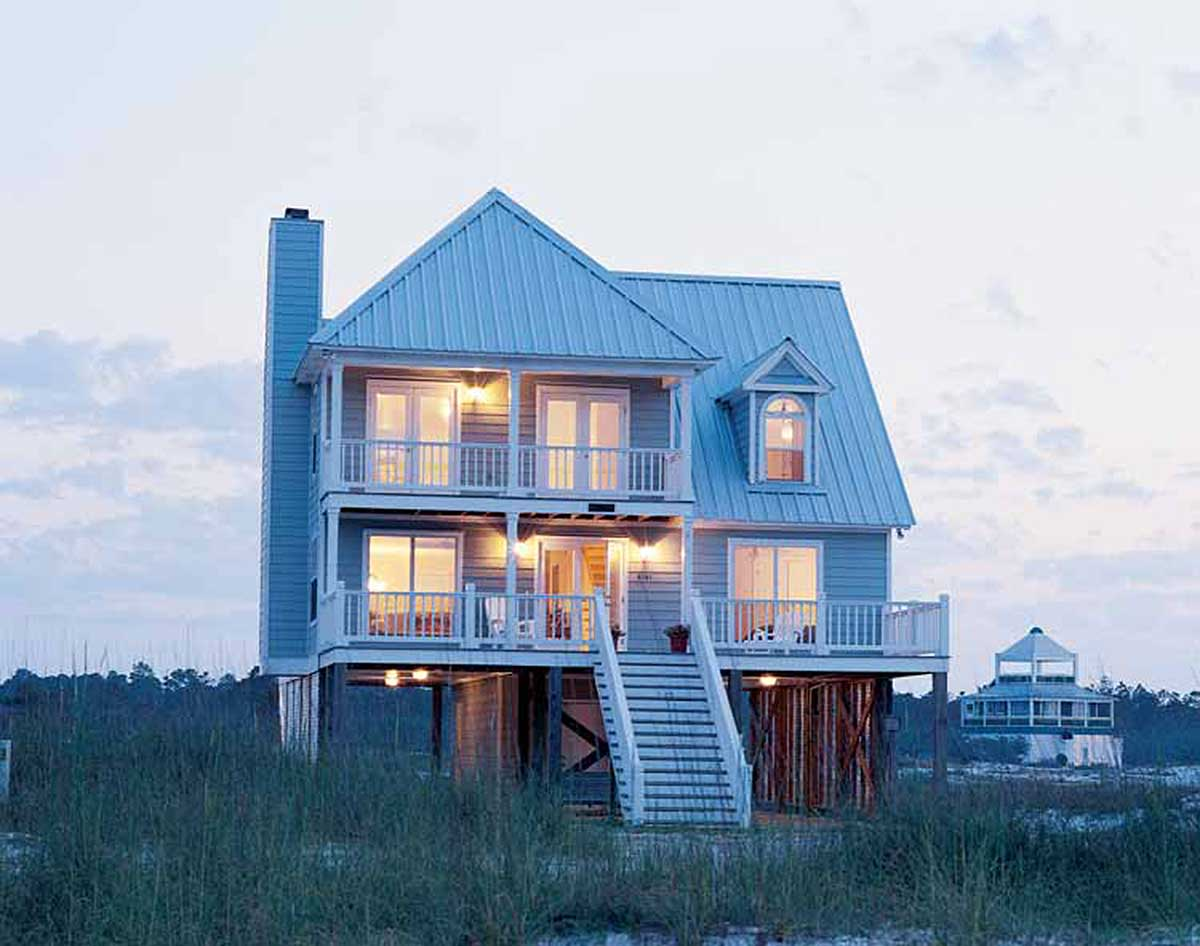 Beach Home Plan Perfection 60050rc Architectural