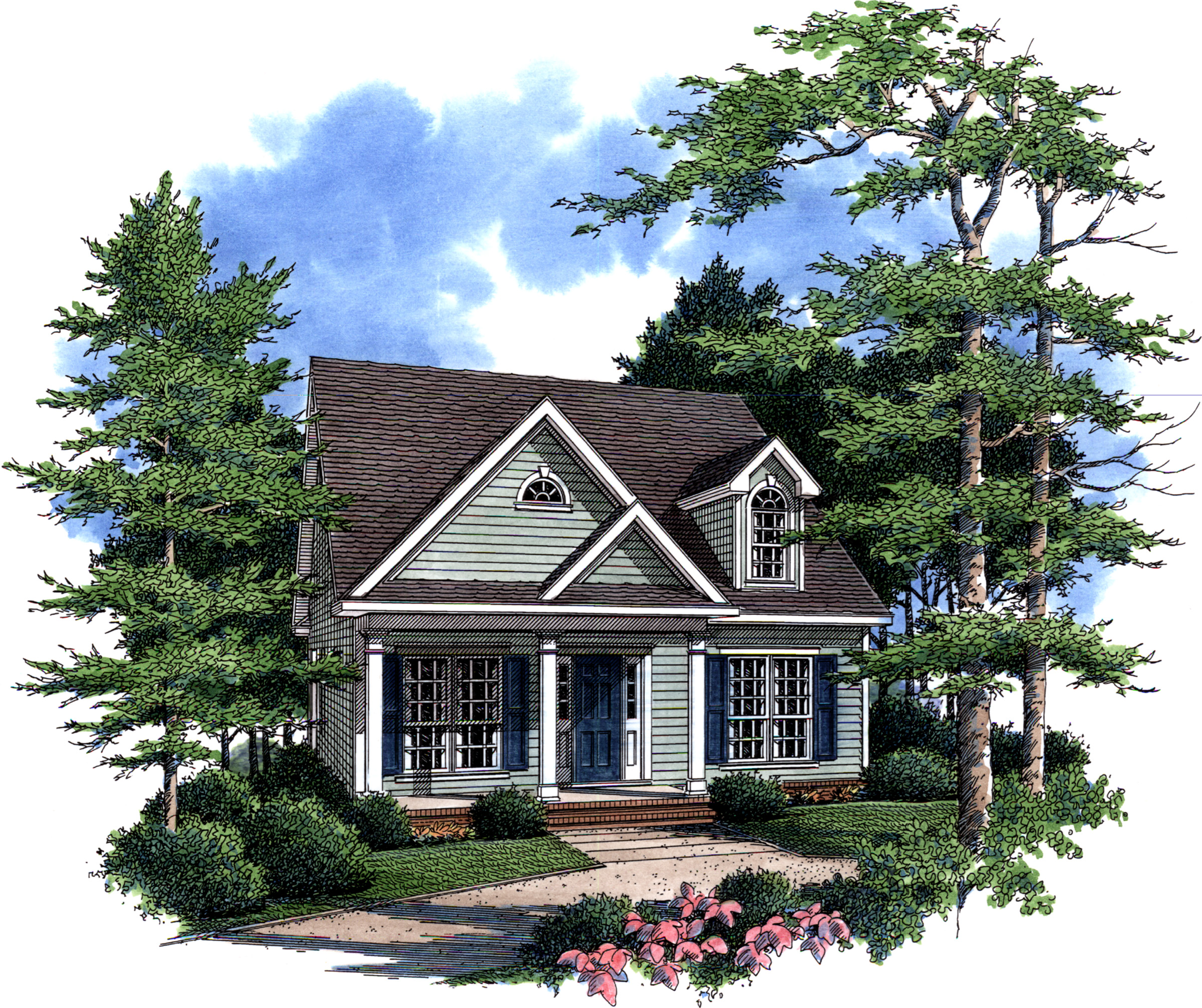 Rustic Country Cottage - 6068RC