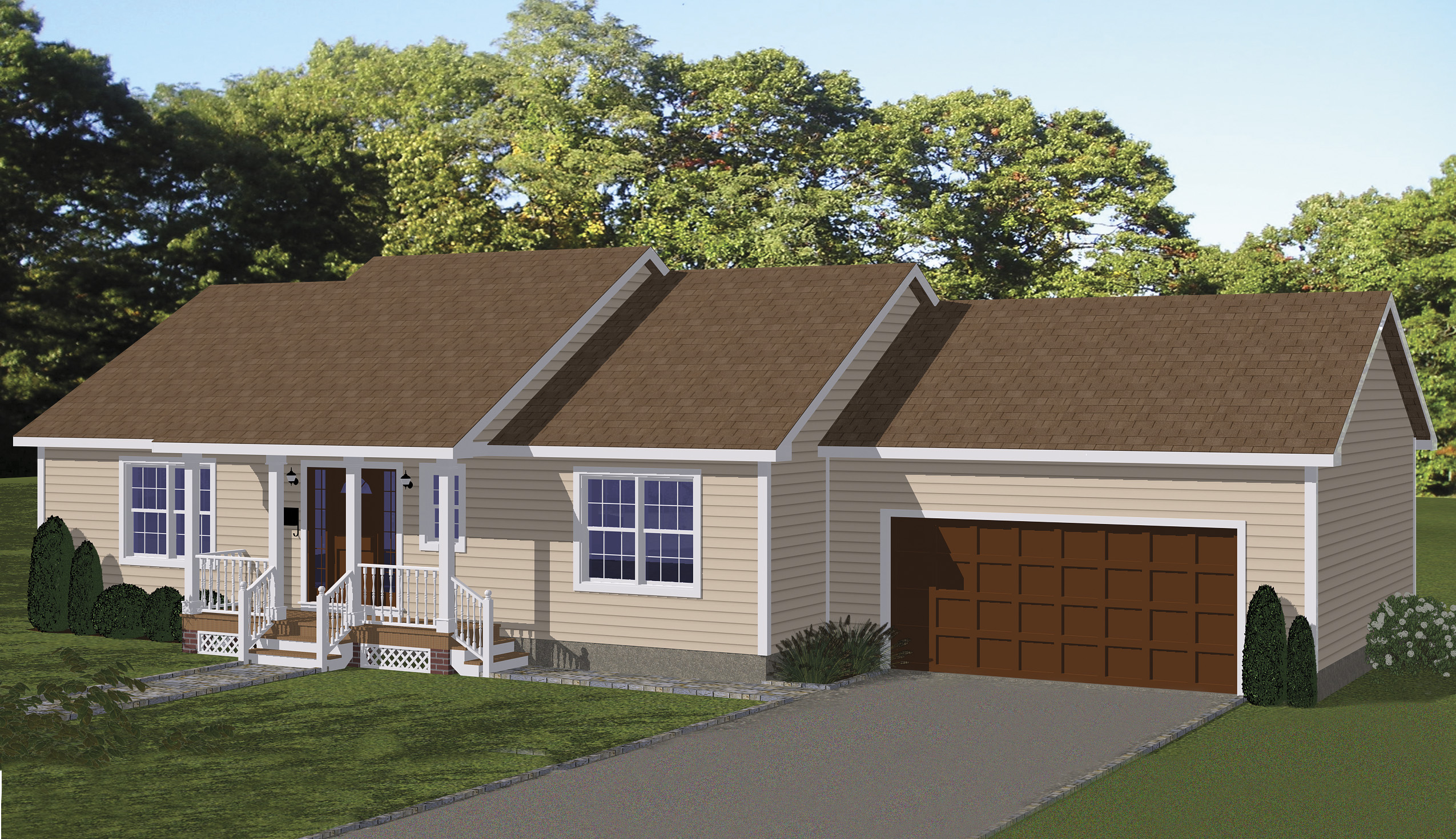 Economical Ranch Home Plan 61003ks Architectural Designs House Plans