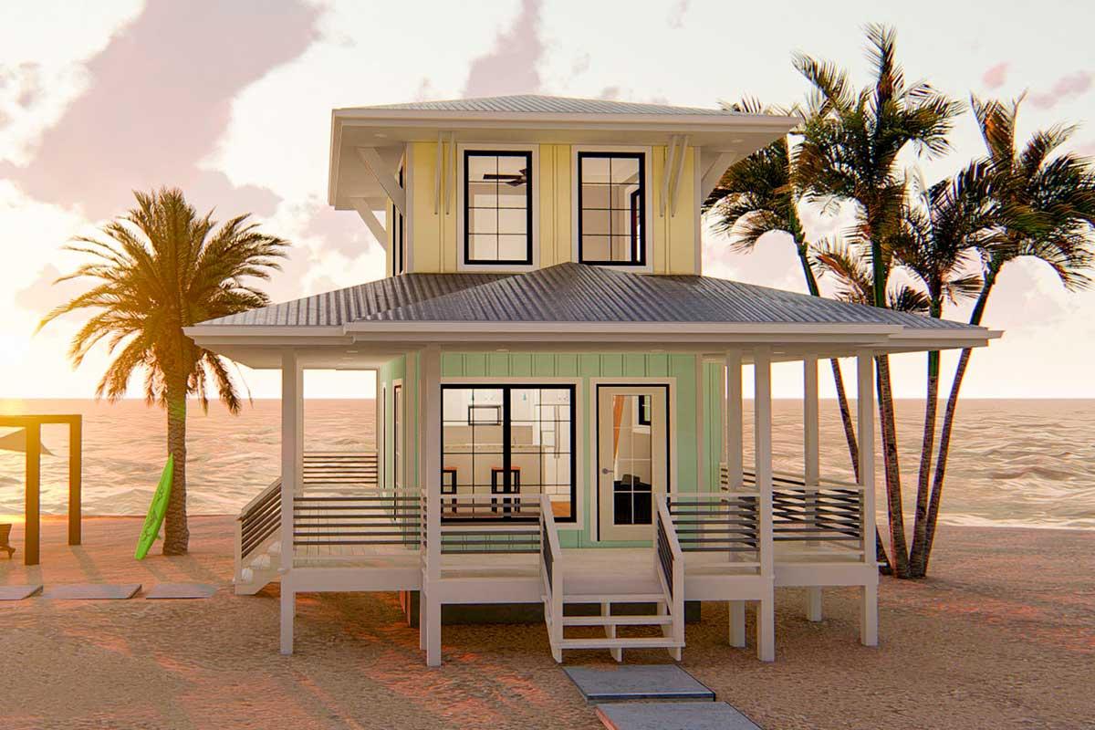 62575DJ 0 - View Small Beach House Design Ideas PNG