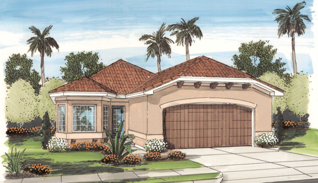spanish style homes plans 3 bed spanish style ranch home plan 62598dj architectural designs house plans 5958