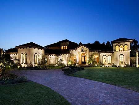 Spacious Mediterranean Home Plan - 63169HD | Architectural ...