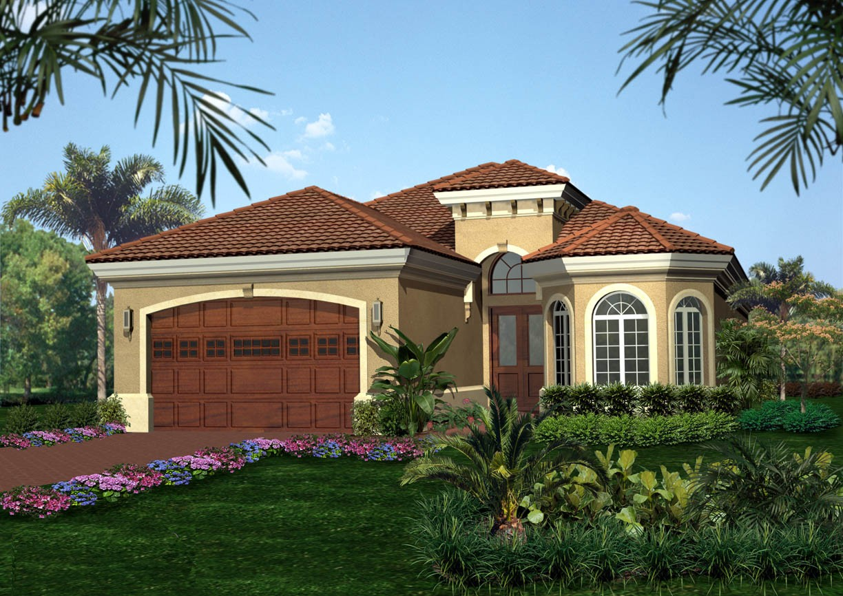 Tuscan Style House Plan - 66025WE   Architectural Designs ...