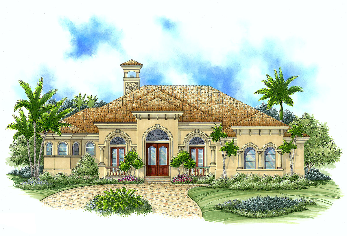 Perfect Plan For Warm Climates 66090we Architectural