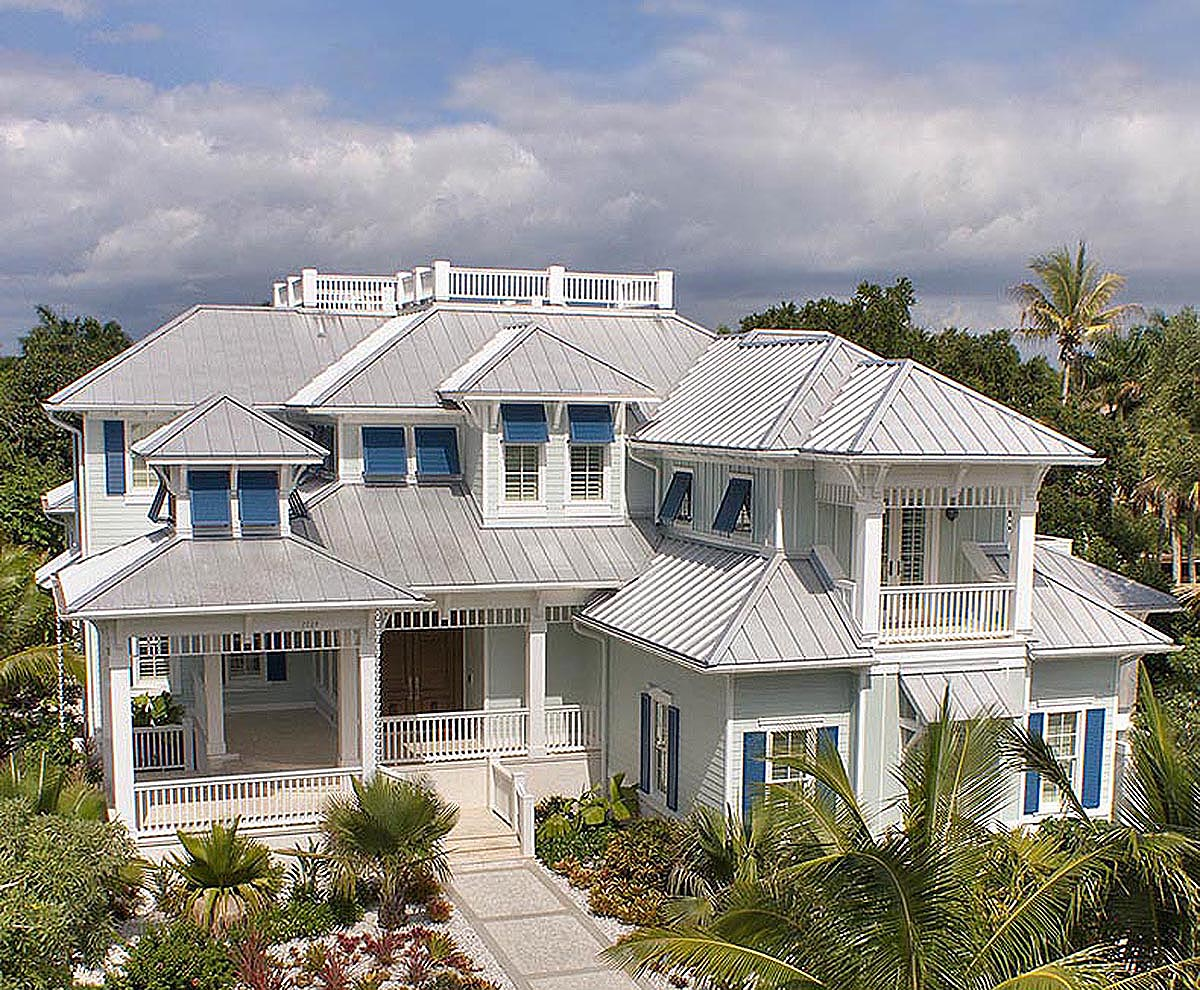 Palatial Florida Home Plan - 66332WE