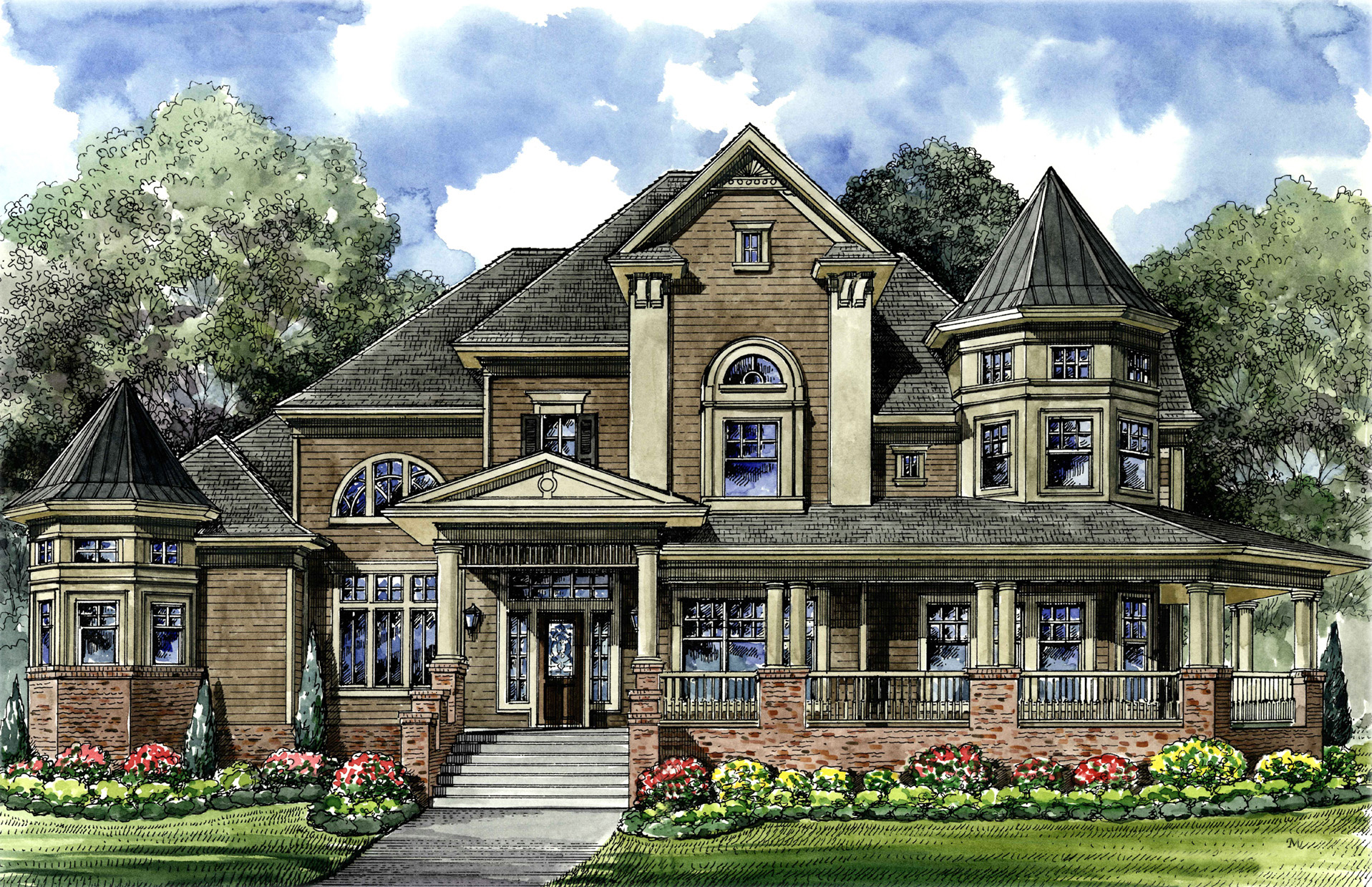 Victorian with 3-Car Detached Garage - 67088GL   Architectural ... on home plans with breakfast nook, home plans with master suite, home plans with den, home plans with water view, home plans with open floor plan, home plans with covered lanai, home plans with barn, home plans with tennis court, home plans with sauna, home plans with two story, home plans with study, home plans with detached, home plans with single story, home plans with carport, home plans with exercise room, home plans with covered patio, home plans with wine cellar, home plans with screened in porch, home plans with library, home plans with 2 kitchens,