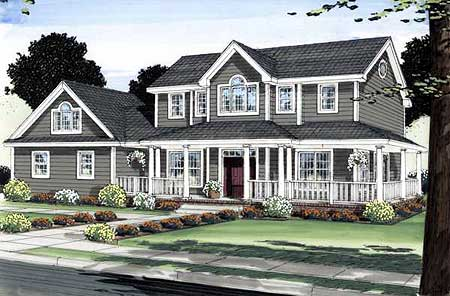 6776MG e 1479191343 - Get House Plans Two Story Wrap Around Porch  Pictures
