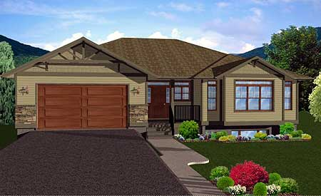house plans with finished basement craftsman ranch home plan with finished basement 6791mg architectural designs house plans 1233