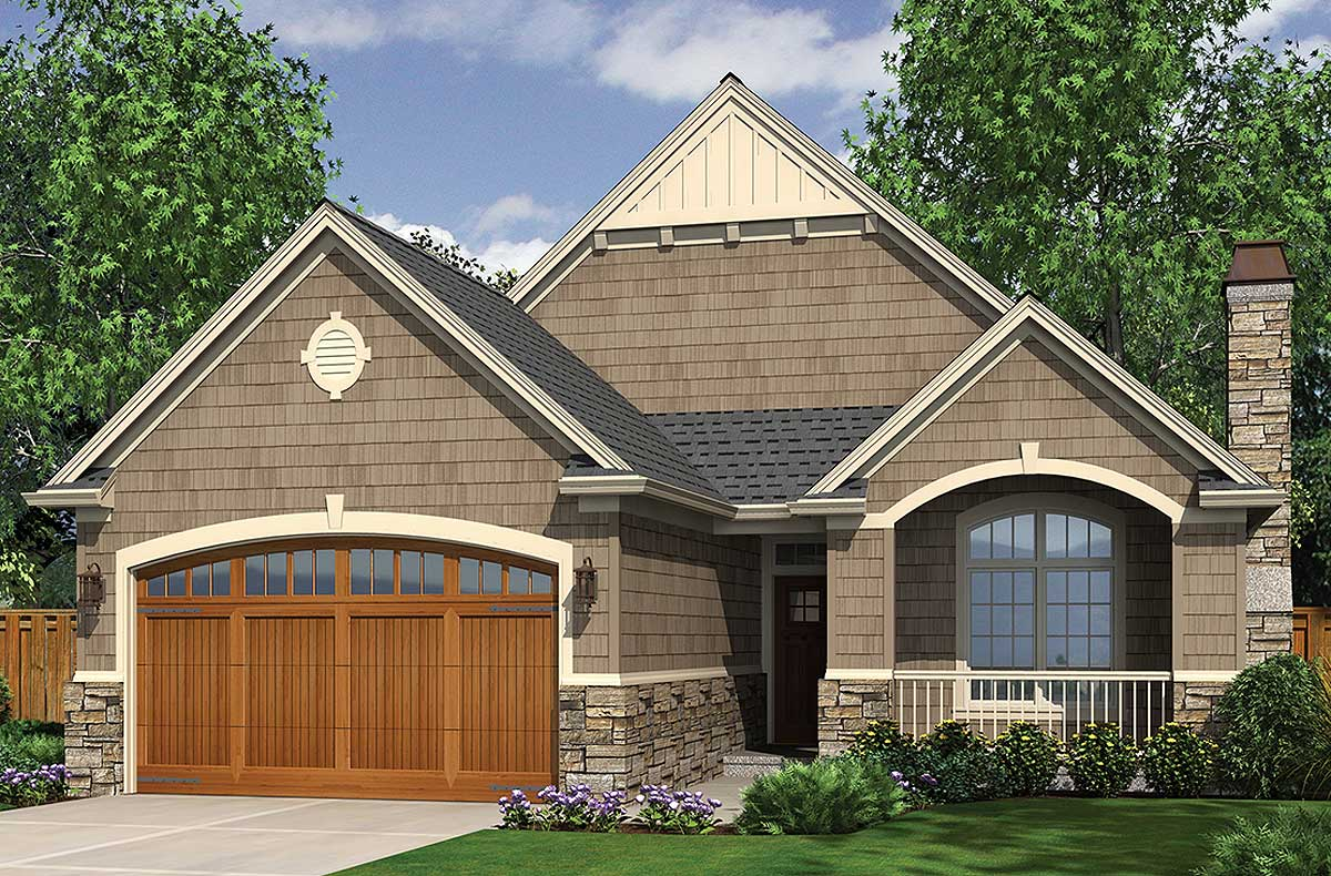 Open Cottage Home Plan - 69013AM   Architectural Designs ...