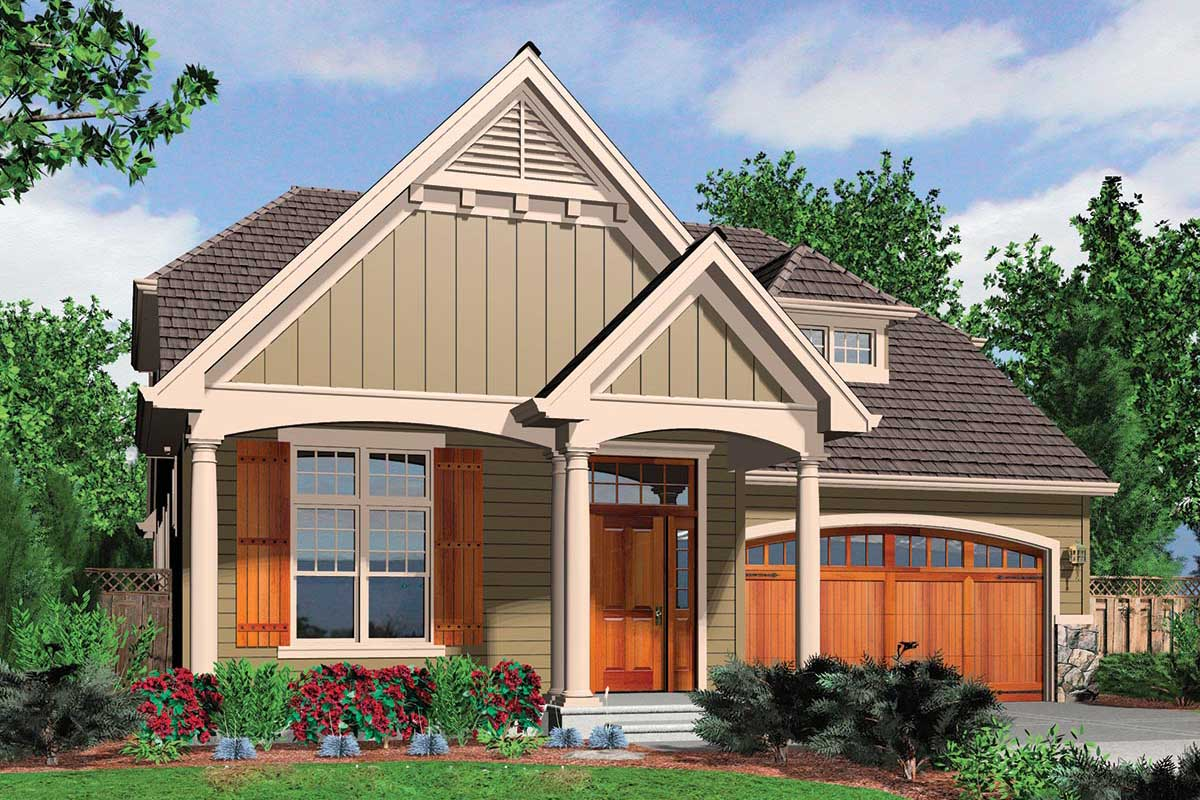 French Cottage Home Plan Architectural Designs