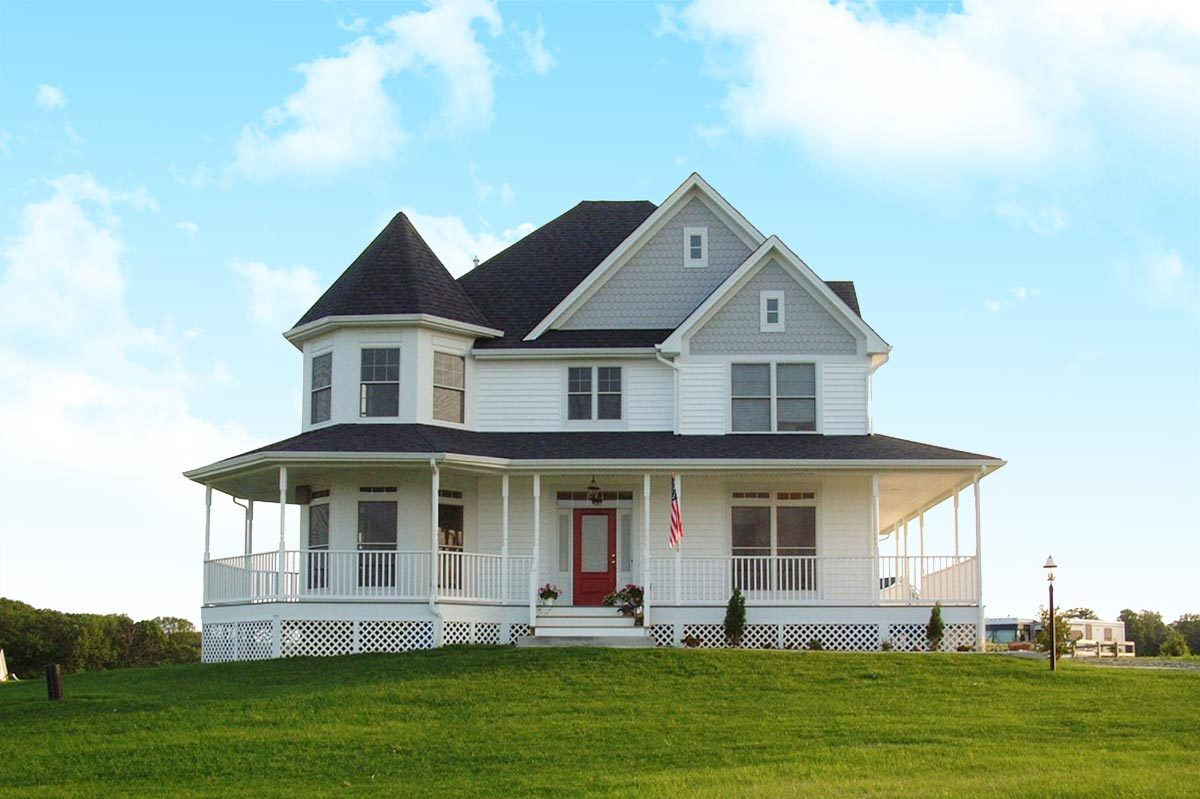 Victorian House Plans Architectural Designs
