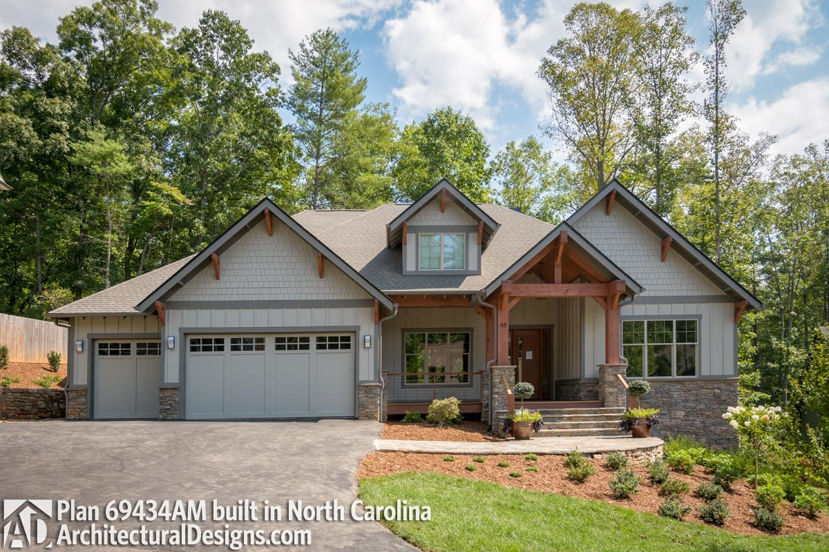 House Plan 69434AM comes to life in North Carolina - photo 001