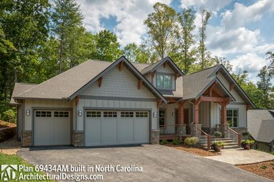 House Plan 69434AM comes to life in North Carolina - photo 003