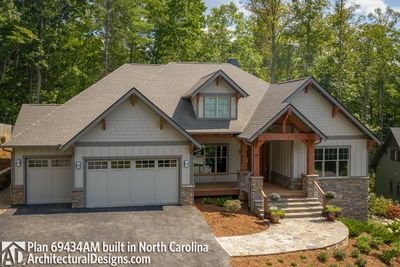House Plan 69434AM comes to life in North Carolina - photo 004