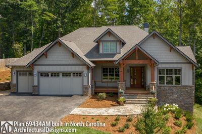 House Plan 69434AM comes to life in North Carolina - photo 005