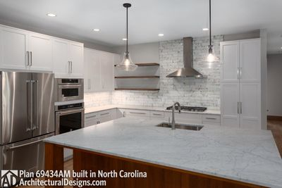 House Plan 69434AM comes to life in North Carolina - photo 011