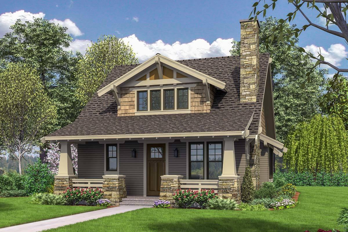Rumah Minimalis dengan Desain America House