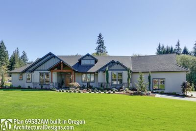 House Plan 69582AM comes to life in Oregon - photo 004
