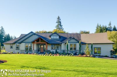 House Plan 69582AM comes to life in Oregon - photo 005