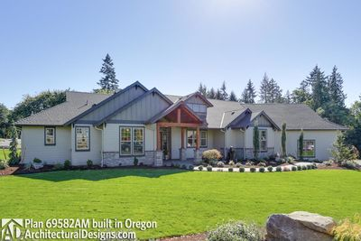 House Plan 69582AM comes to life in Oregon - photo 001