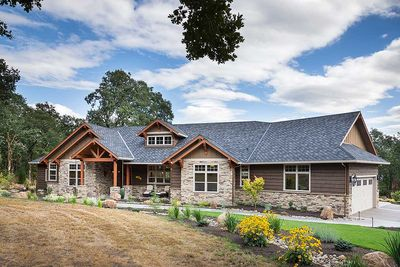 Plan 69582AM: Beautiful Northwest Ranch Home Plan on rambler house plans, rambler house curb appeal, rambler house with rock, ramblers with bonus room house design,