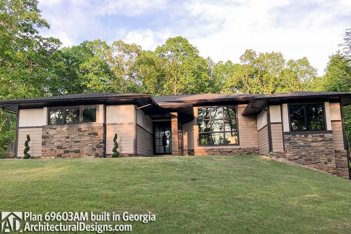 House Plan 69603AM comes to life in Georgia - photo 001