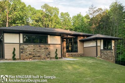 House Plan 69603AM comes to life in Georgia - photo 002