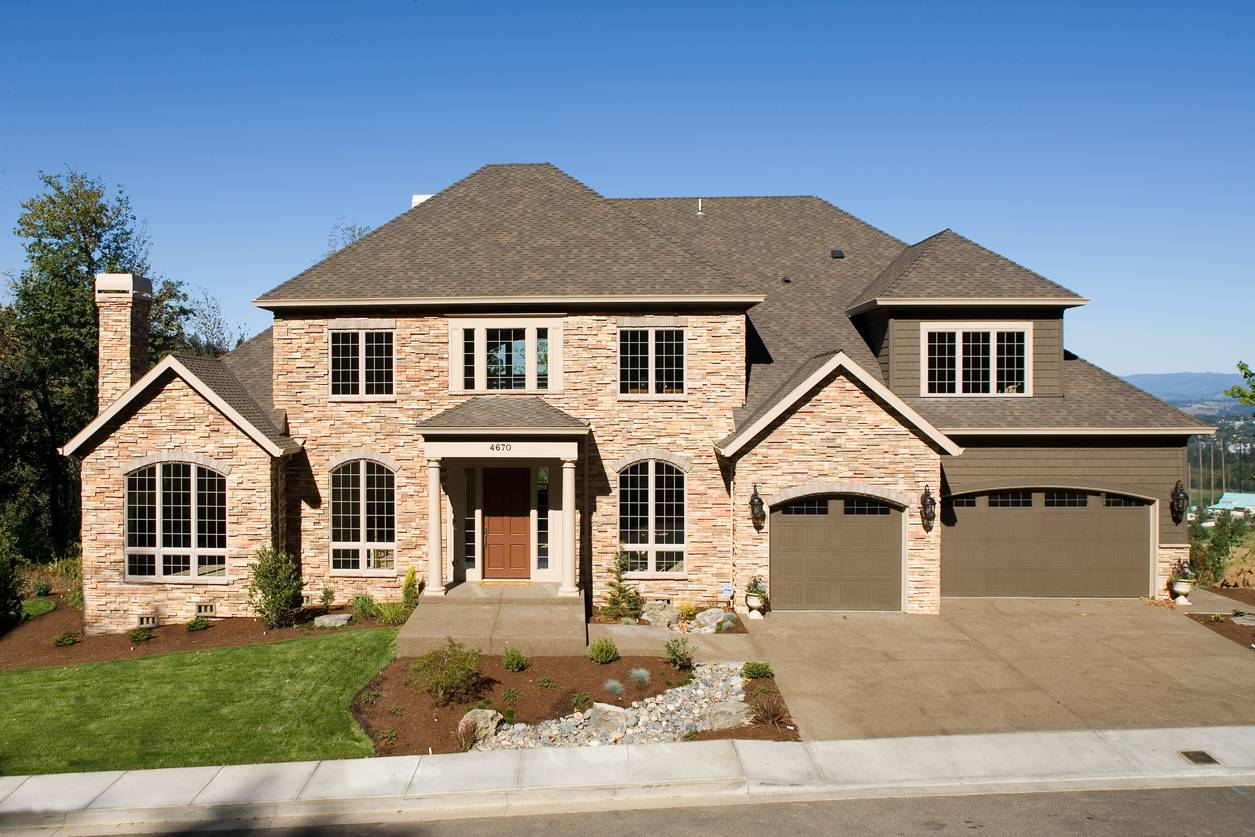 Stone Exterior Luxury Design – 6962AM | Architectural Designs