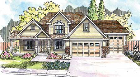 Traditional Home With Covered Front Porch 72542da