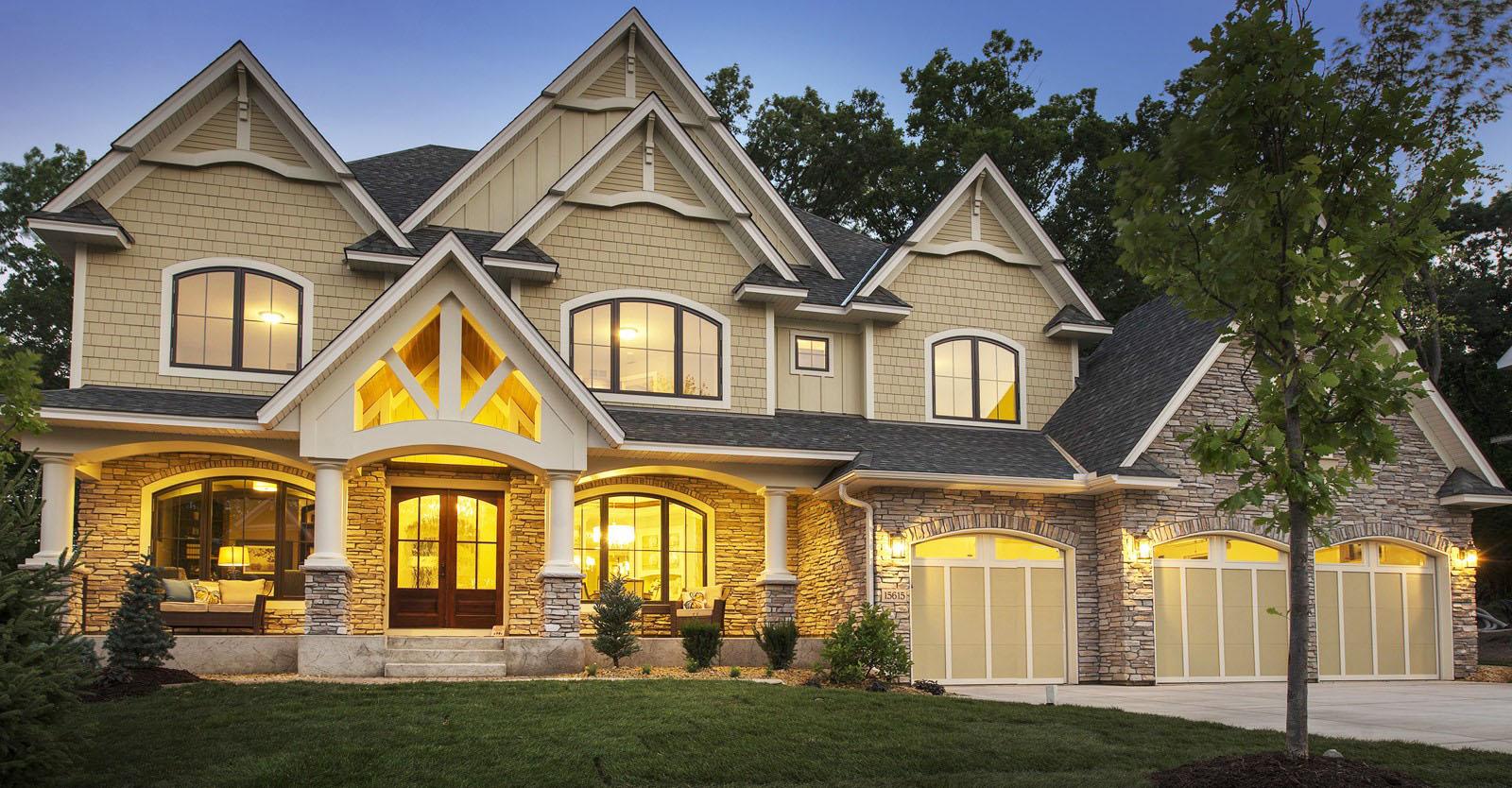 Gorgeous Gabled Dream Home Plan - 73326HS