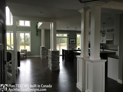 Exclusive House Plan 73329HS comes to life in Alberta - photo 004