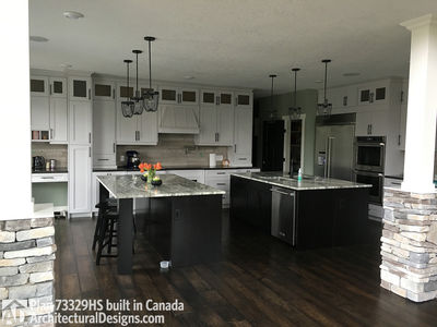 Exclusive House Plan 73329HS comes to life in Alberta - photo 005