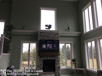 Exclusive House Plan 73329HS comes to life in Alberta - photo 006