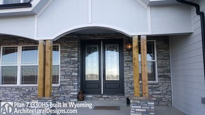 House Plan 73330HS client-built in Wyoming! - photo 008