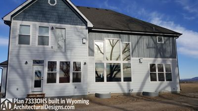 House Plan 73330HS client-built in Wyoming! - photo 009