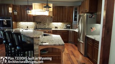 House Plan 73330HS client-built in Wyoming! - photo 010