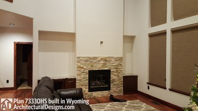 House Plan 73330HS client-built in Wyoming! - photo 011