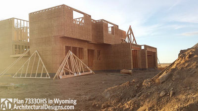 House Plan 73330HS client-built in Wyoming! - photo 017