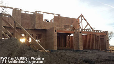House Plan 73330HS client-built in Wyoming! - photo 013