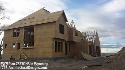 House Plan 73330HS client-built in Wyoming! - photo 015