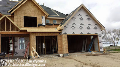 House Plan 73330HS client-built in Wyoming! - photo 034